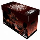 Comic Book Cardboard Storage Box with Walking Dead Saviours Artwork, holds 150-175 Comics